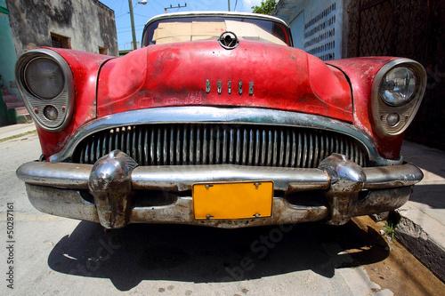 Stary samochód na Kubie - 50287161