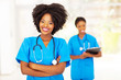 professional african american medical nurse