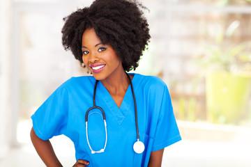 african medical worker
