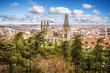 Panoramic view of Burgos, Castilla y Leon, Spain