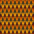 Vintage seamless pattern. Vector background
