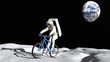The astronaut on a bicycle - 50289550