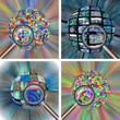 Set of 4 spheres