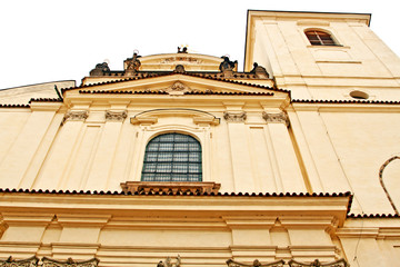 Church of St. Jacob in Old Town of Prague, Czech Republic