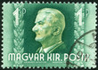 HUNGARY - 1941: shows Admiral Nicholas Horthy (1868-1957)