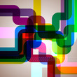 Abstract pipes background.