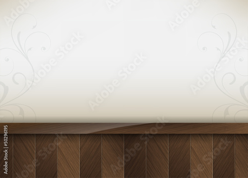 Business background with wood insertion