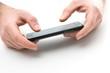 Hände mit Smartphone