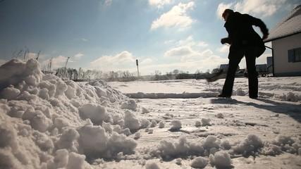 Schneeschieben 002