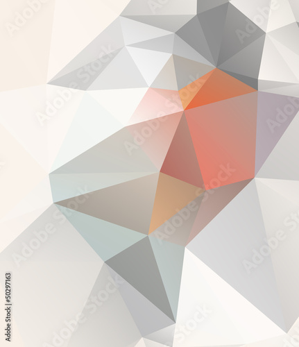 Light Geometric background vector eps 10