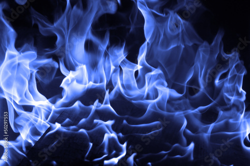 In de dag Vuur / Vlam Blue fire