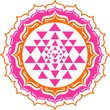 Shri Yantra - Lotus Blüte - Mandala