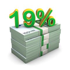 19 Percent Euro