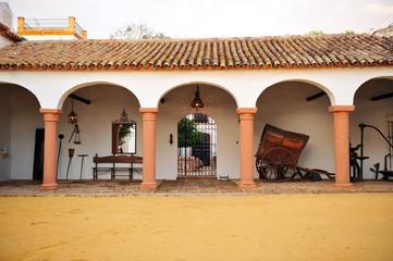 Cortijo andaluz, hacienda de labor