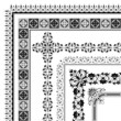 elegant corner border collection of frames