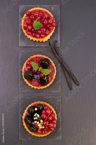 Tartelettes de fruits