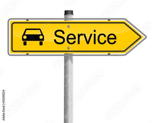 Wegweiser Auto Service
