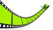 Blanko Filmrolle Grün 02