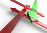 Finde den richtigen Weg - Rot Grün 6