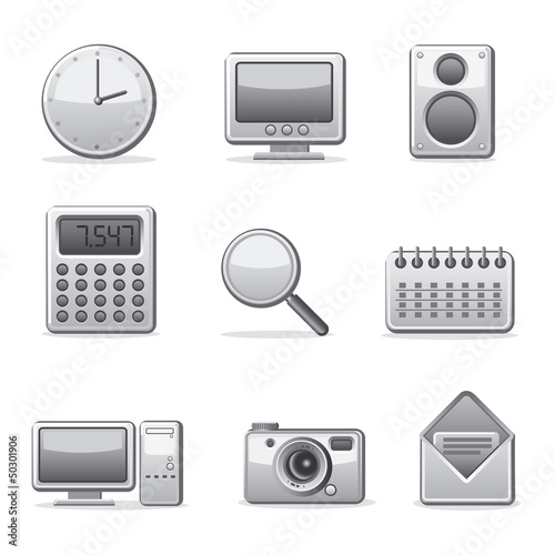 computer applications buttons