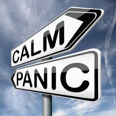 calm down dont panic