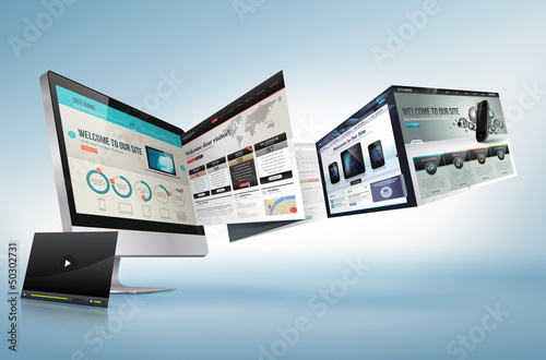 Web design concept - 50302731
