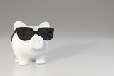 Piggy bank - sunglasses