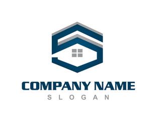 letter s house logo
