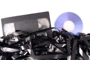 Video tape cassete to DVD