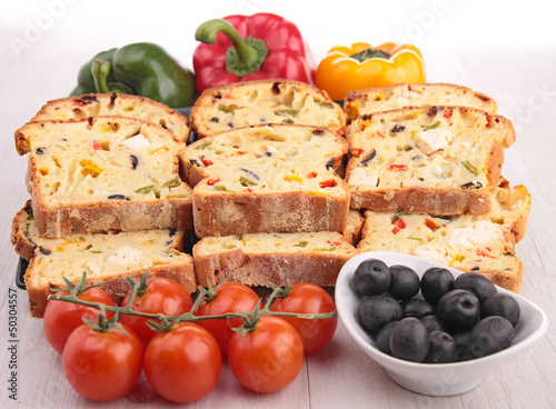 vegetable bread