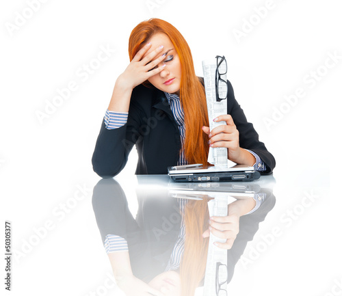 Business woman - 50305377
