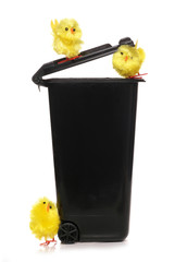 recycle easter rubbish