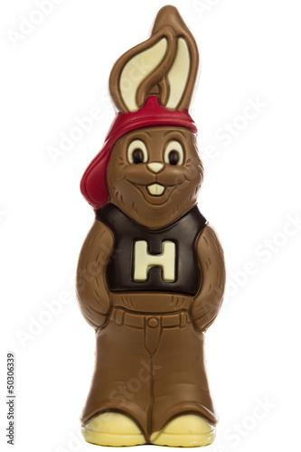 Hase aus Schokolade