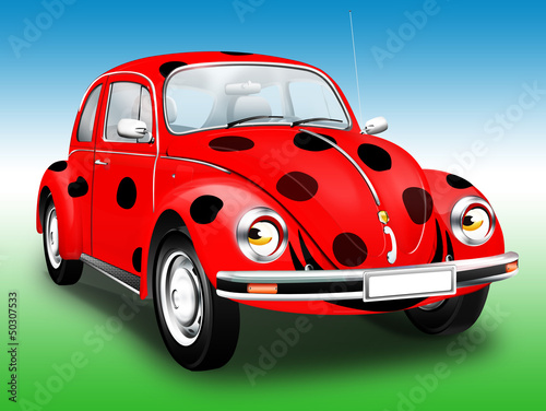Foto op Plexiglas Cars Marien - Käfer