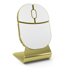 Mouse Golden Icon