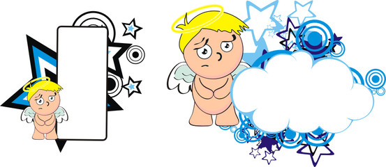 angel kid cherub cartoon copyspace7