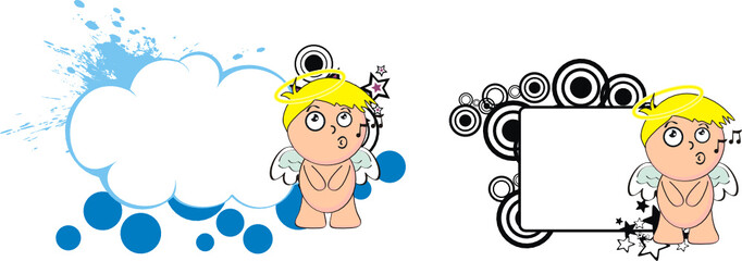 angel kid cherub cartoon copyspace5