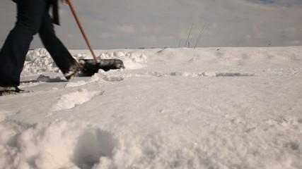 Schneeschieben 004