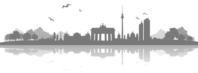 Skyline Berlin Landschaft