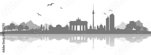 Skyline Berlin Landschaft