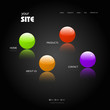 modern color web site template