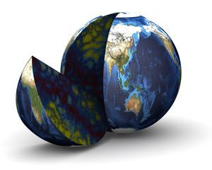 Кусок земного шара