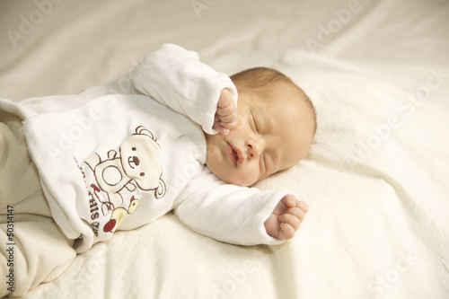 Schlafender Baby Junge