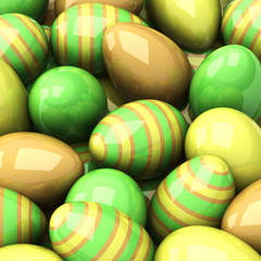Easter background, 3d
