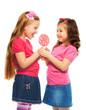 sharing lollipop