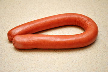 Meaty Raw Kielbasa