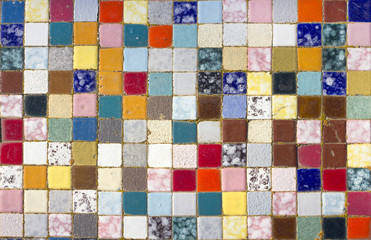 mosaic of colors
