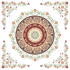 ornament pattern colorful