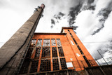 Power plant exterior poster