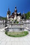 Peles Castle in Romania poster